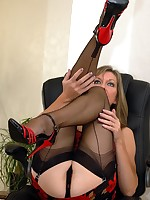 naughty nylons and panties - Granny Lingerie