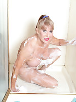 Let's continue our get-to-know party in the shower - Girdles Granny